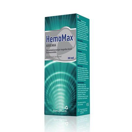 HEMOMAX KREMA HAMAPHARM 30ML