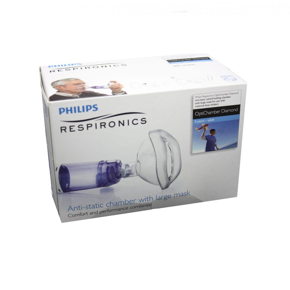 PHILIPS INHALATOR OPTICHAMBER DIAMOND L