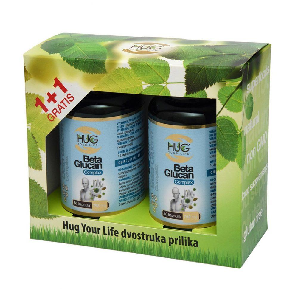 BETA GLUCAN COMPLEX HUG YOUR LIFE +1 GRATIS