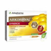 ARKOROYAL DYNERGIE AMPULE 20X10ML AKROPHARMA