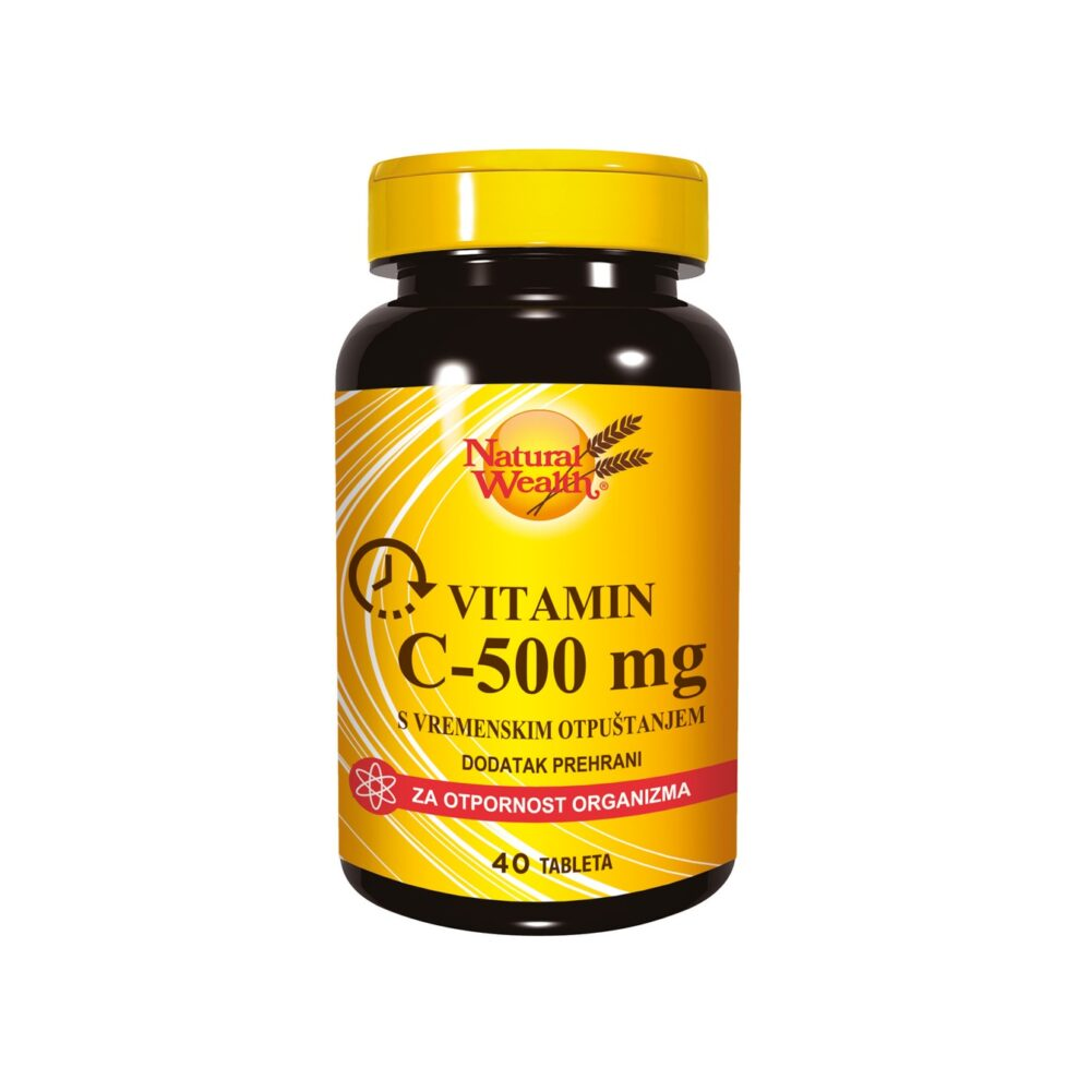 NATURAL WEALTH VITAMIN C-500 TABLETE A40