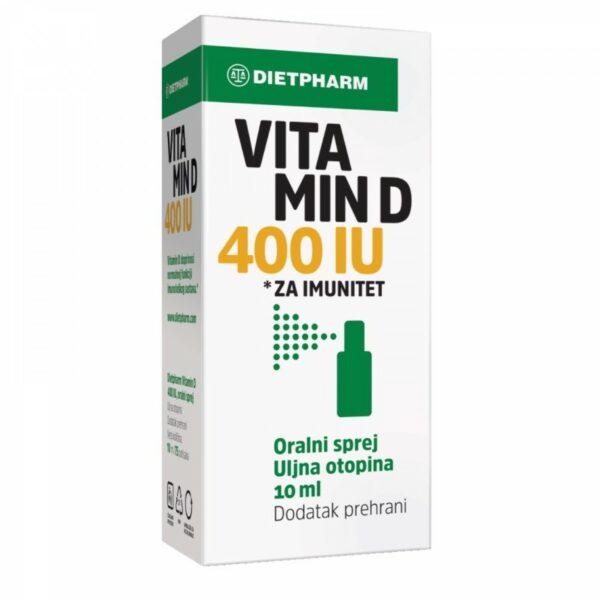 DIETPHARM VITAMIN D 400 IU SPREJ 10ML