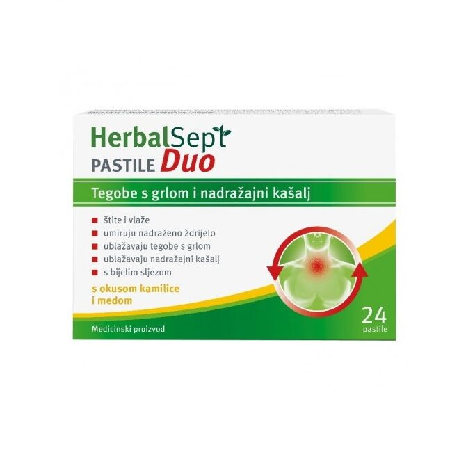 DR. THEISS HERBALSEPT DUO PASTILE A24